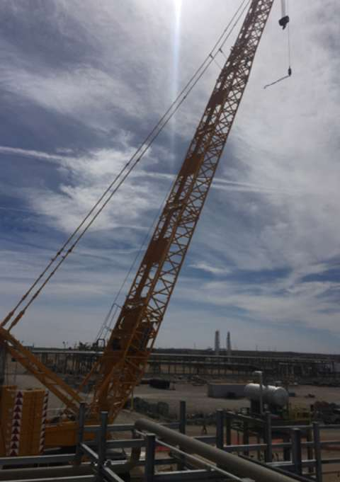 To provide an example of cost effectiveness, Kahuna can scan this site and provide deliverables for less than the cost of this crane sitting for one day.